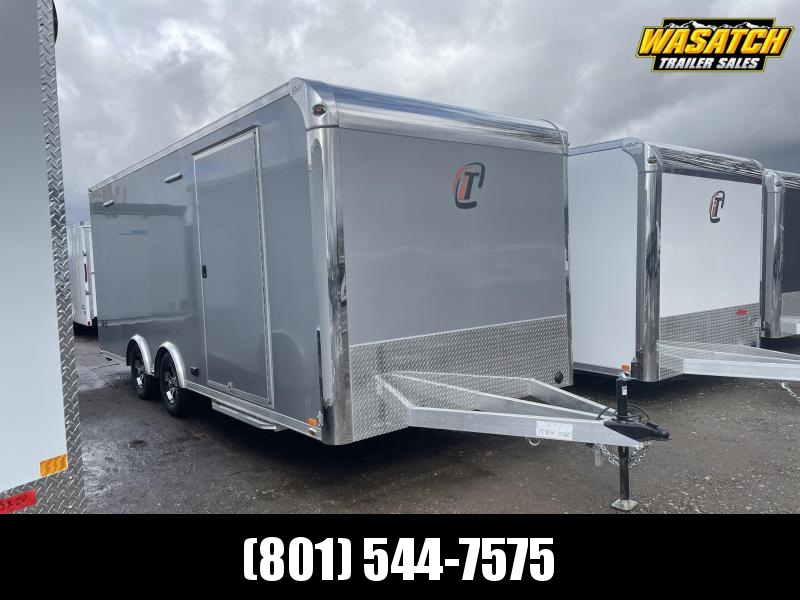 inTech 20' Lite Aluminum Enclosed Cargo / Car / Racing Trailer
