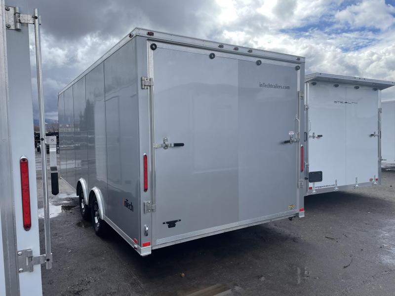 inTech 20' Lite Aluminum Enclosed Cargo / Car / Racing Trailer