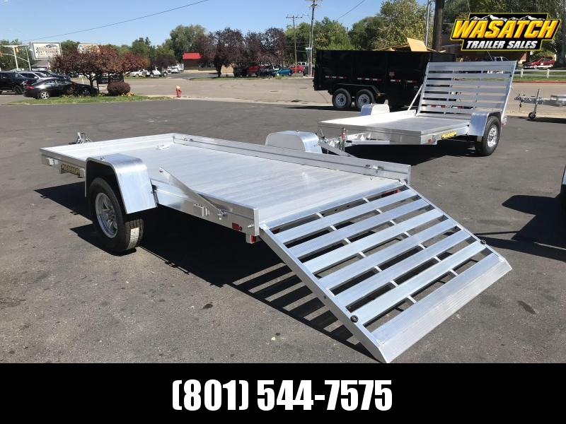 Aluma 68x12 Heavy Duty Axle Aluminum Utility