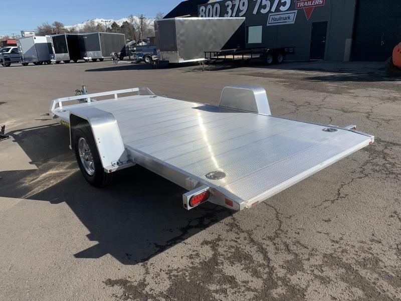 "Aluma 6'10""x14' Aluminum Tilt (8214HSTilt) Utility Trailer"