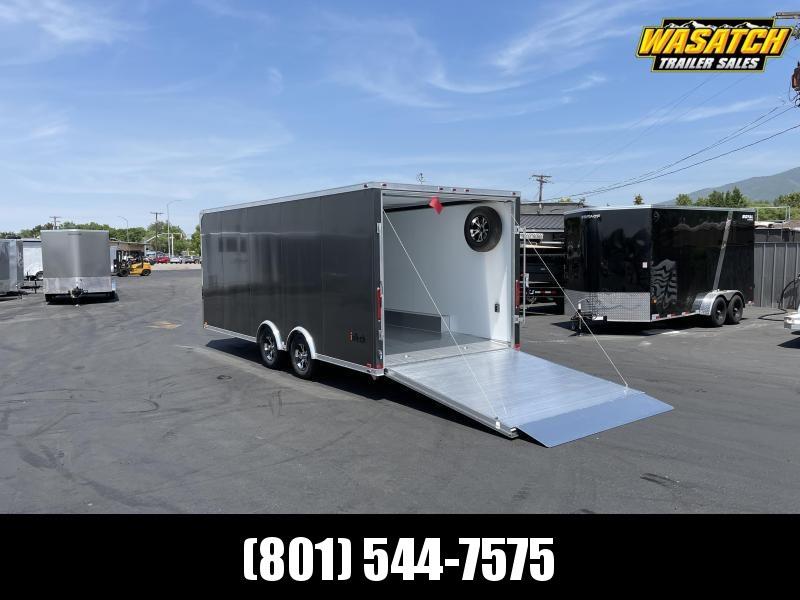 inTech 8.5x20 Lite Aluminum Enclosed Cargo / Car / Racing Trailer