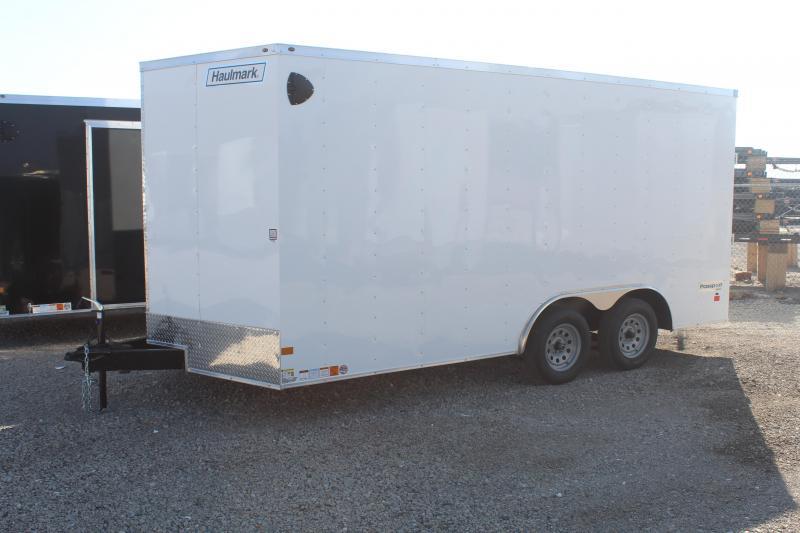 Haulmark 85x16 Passport Deluxe Enclosed Cargo Trailer