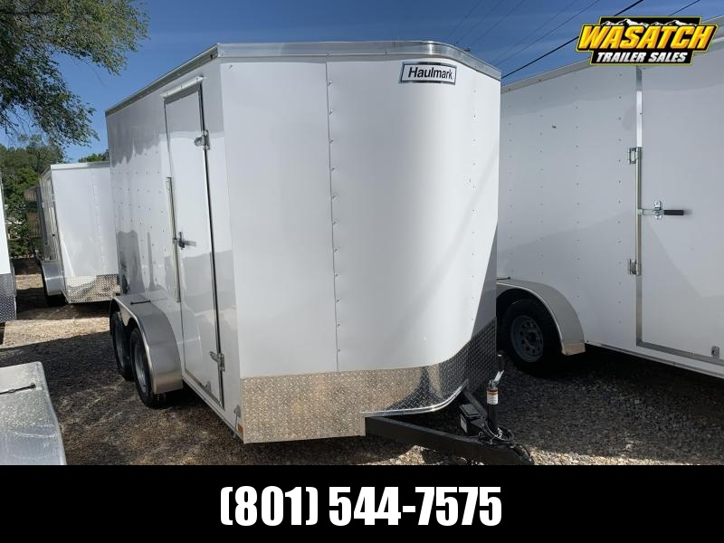 Haulmark 7 x 12 Passport Deluxe Enclosed Cargo w/ Barn Doors
