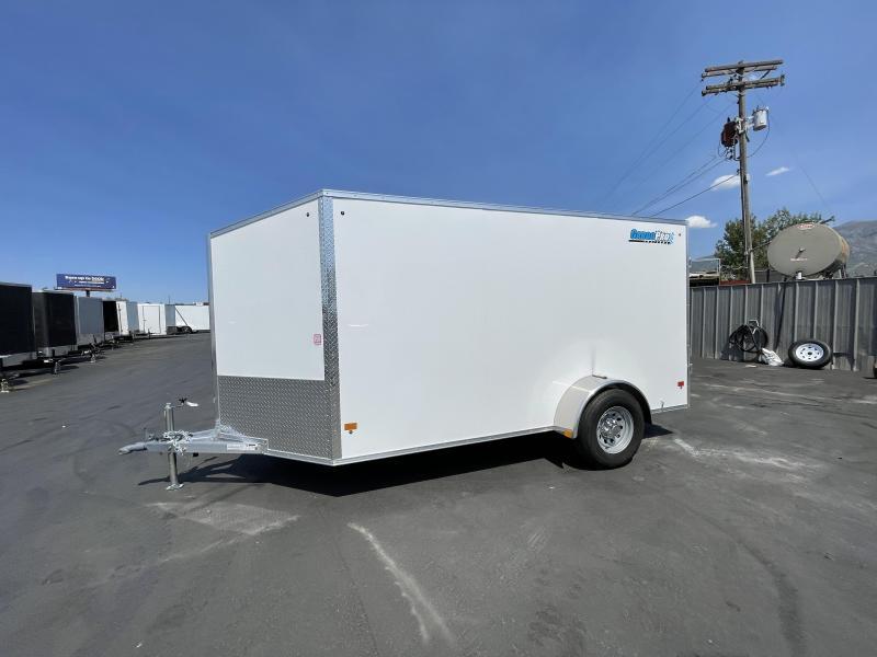 CargoPro - 6x12 - Single 5k Axle - Aluminum - Enclosed Cargo Trailer