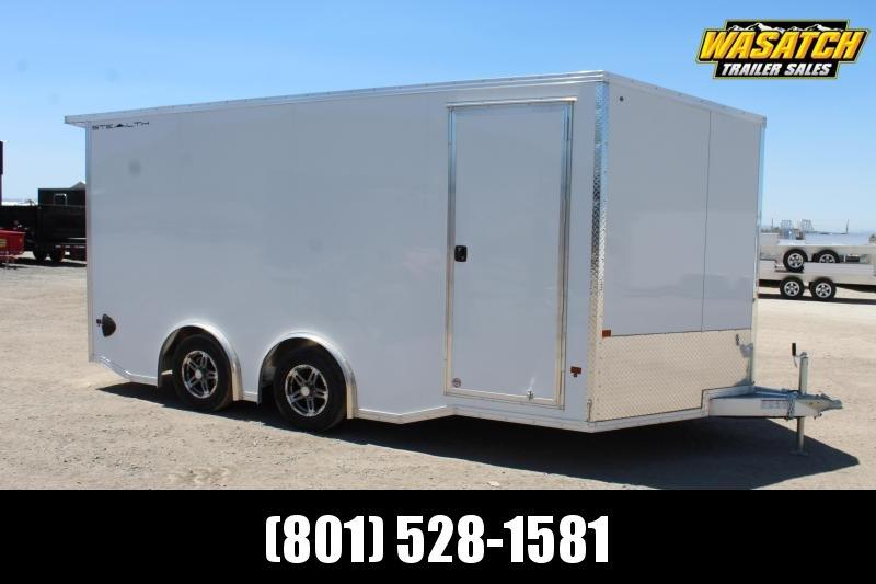 Alcom-Stealth 85x16 Aluminum Car / Racing Trailer