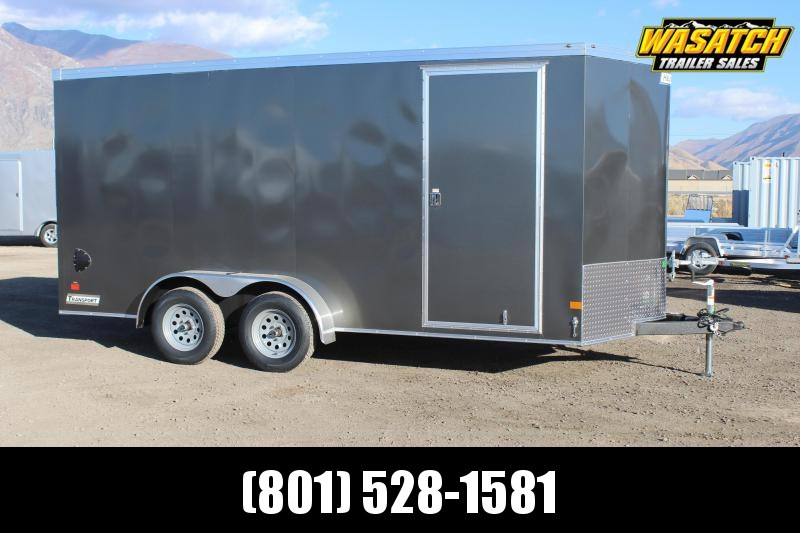 Haulmark 7x16 Transport Enclosed Cargo Trailer