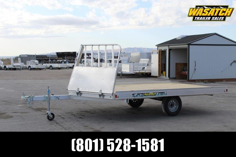 Aluma 8612H Aluminum Snowmobile Trailer