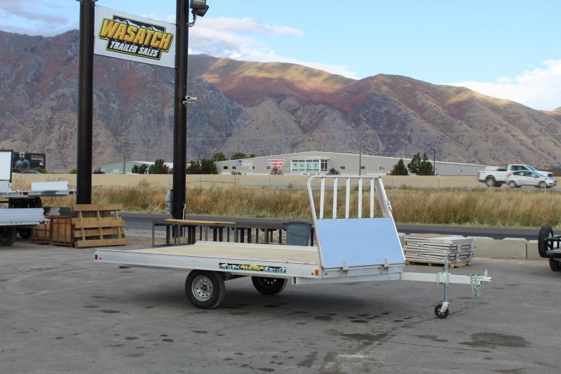 Aluma 8612H Aluminum Snowmobile Trailer