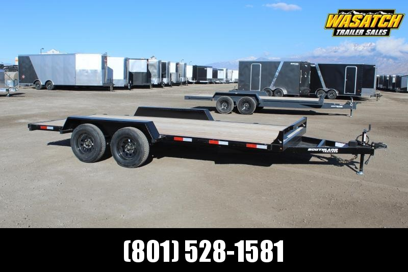 Southland Trailers 7x16 HD Tube Utility Trailer