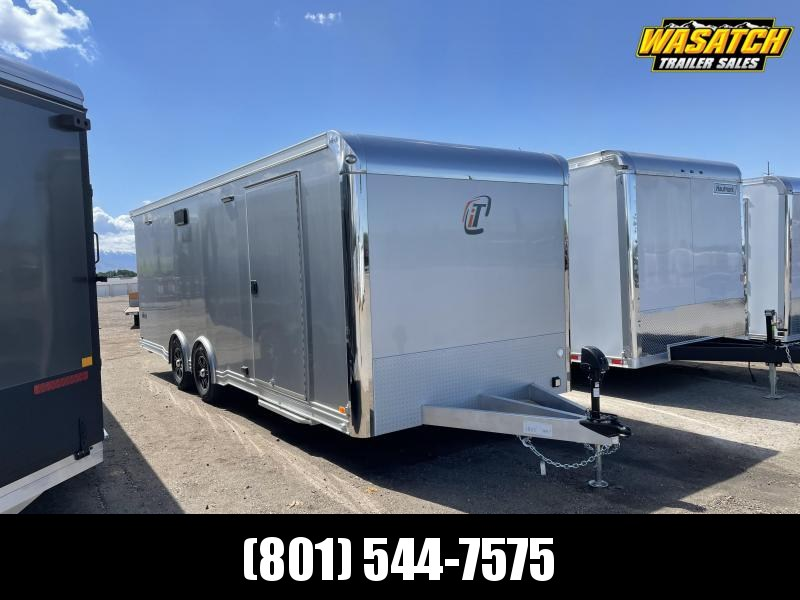 2021 inTech Trailers 24' icon aluminum Car / Racing Trailer