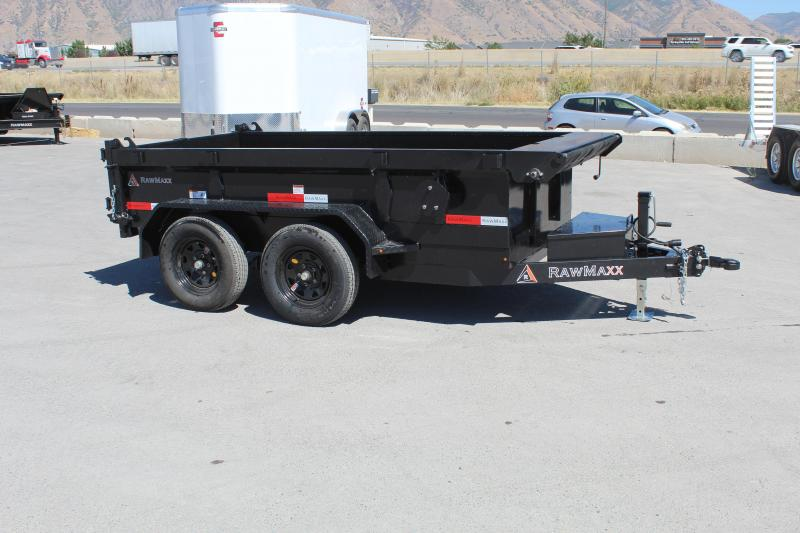 RawMaxx 5x10 5 Channel Dump Trailer