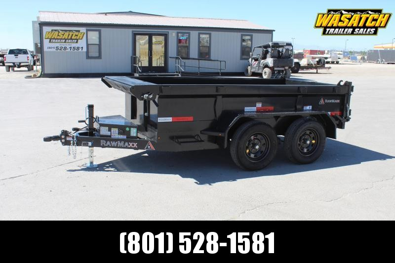 "***RawMaxx 6x10 5"" Channel Dump Trailer***"