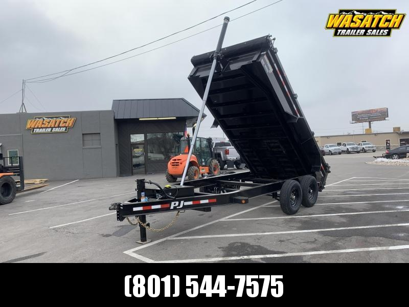 PJ 7x14Telescopic Dump (DT) w/ 8k Axles