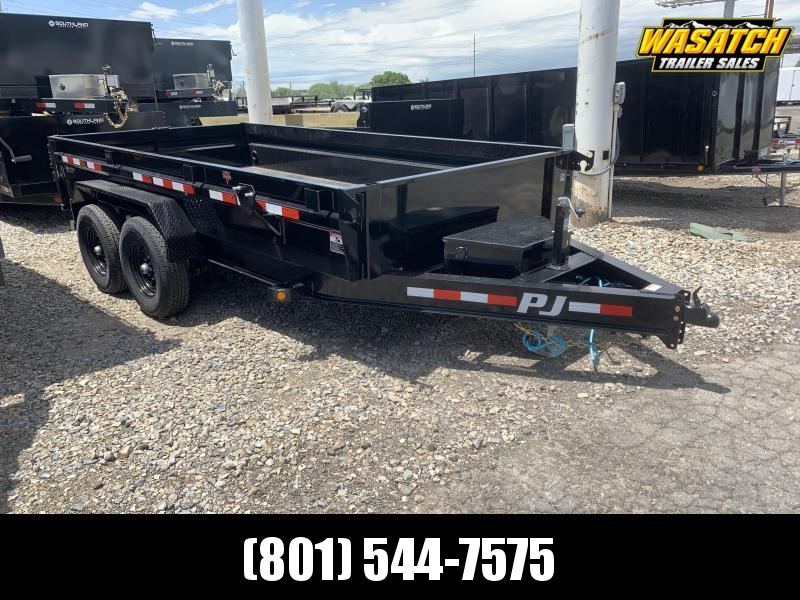 PJ 7x14 Medium Duty (DG) Dump Trailer