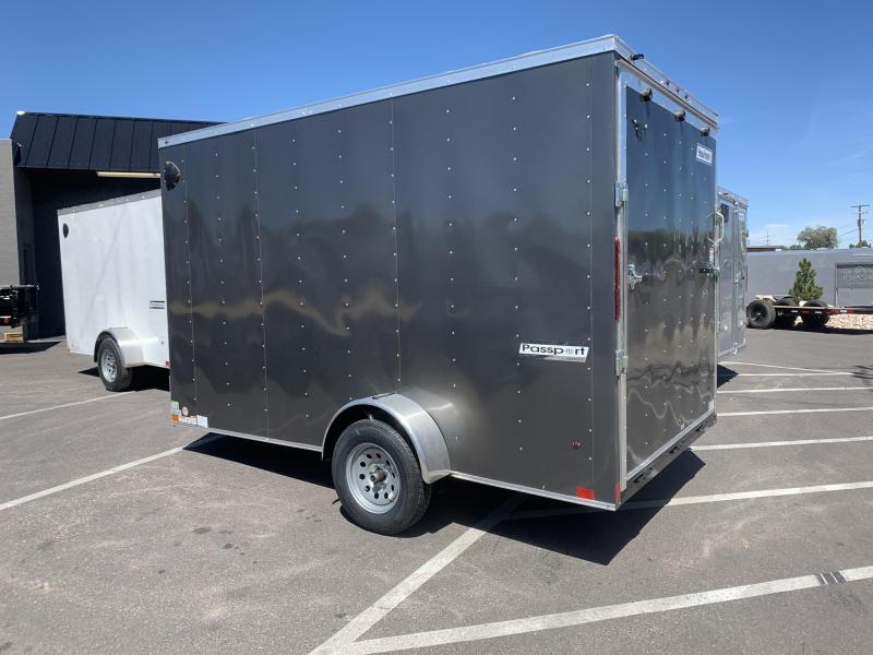 Haulmark 7x12 Passport Deluxe Single Axle Enclosed Cargo