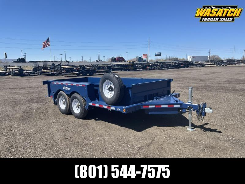 2021 Air Tow UT16-10 Tandem Axle Equipment Trailer