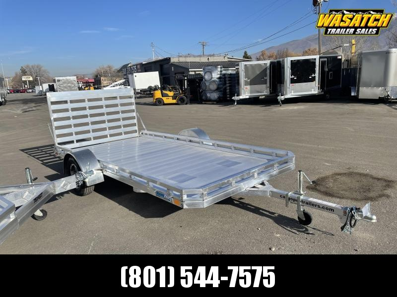 2021 CargoPro Trailers 6.5x14 Single Axle Aluminum Utility Trailer