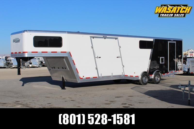 High Country 8.5x38 All Sport Gooseneck Aluminum Snowmobile Trailer @ Wholesale Cost
