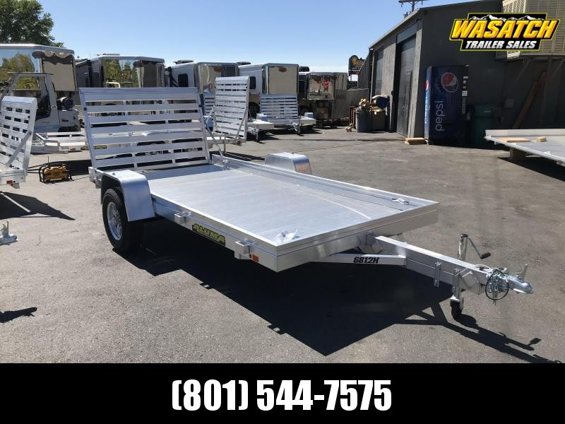 Aluma 6812H Aluminum Utility Trailer
