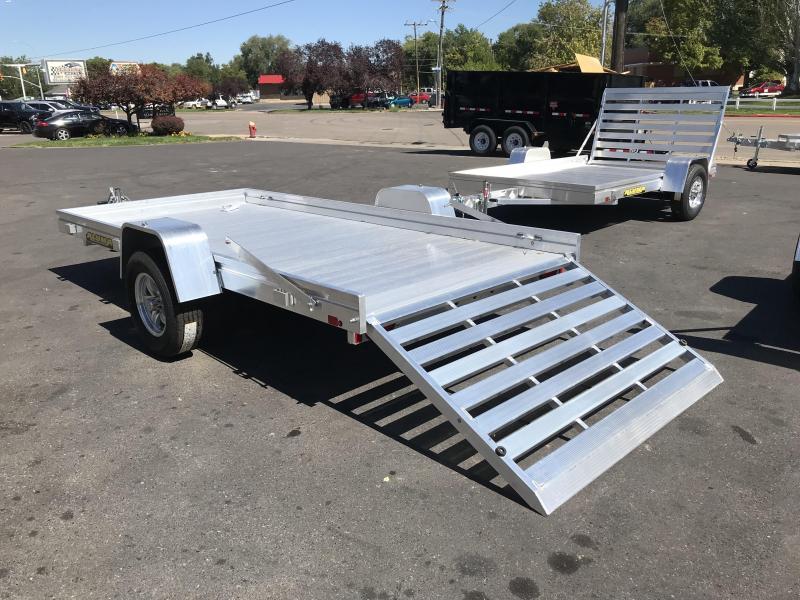 "Aluma 6812H (5'8""x12') Aluminum Utility Trailer"