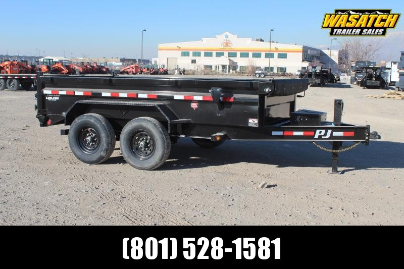"PJ Trailers 7x14 83"" Low-Pro (DL) Dump Trailer"