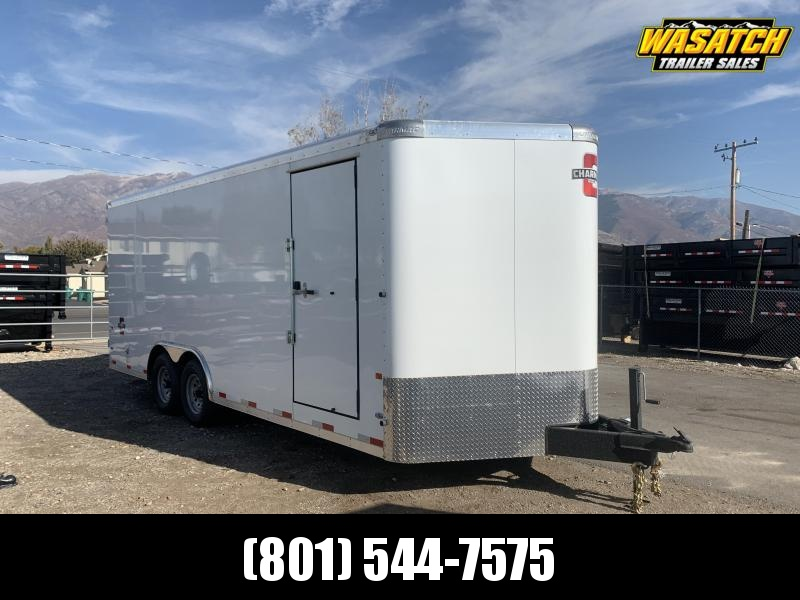 2021 Charmac Trailers 100x20 Commercial Duty Enclosed Cargo Trailer