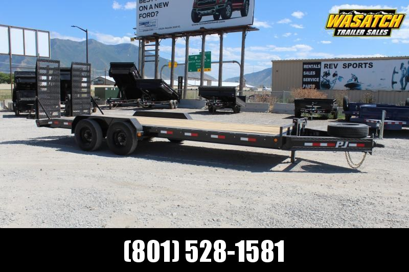 "PJ Trailers 85x22 10"" Pro-Beam (H5) Equipment Trailer"