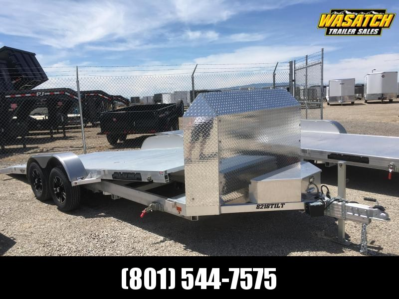 Aluma 8218 Anniversary Tilt Car / Racing Trailer