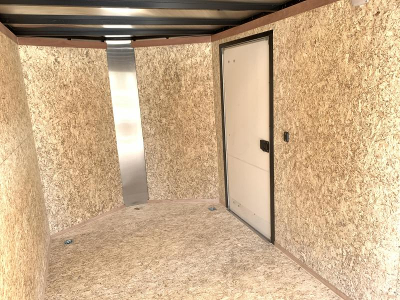 Charmac 7x16 Atlas Enclosed Cargo w/ Barn Doors
