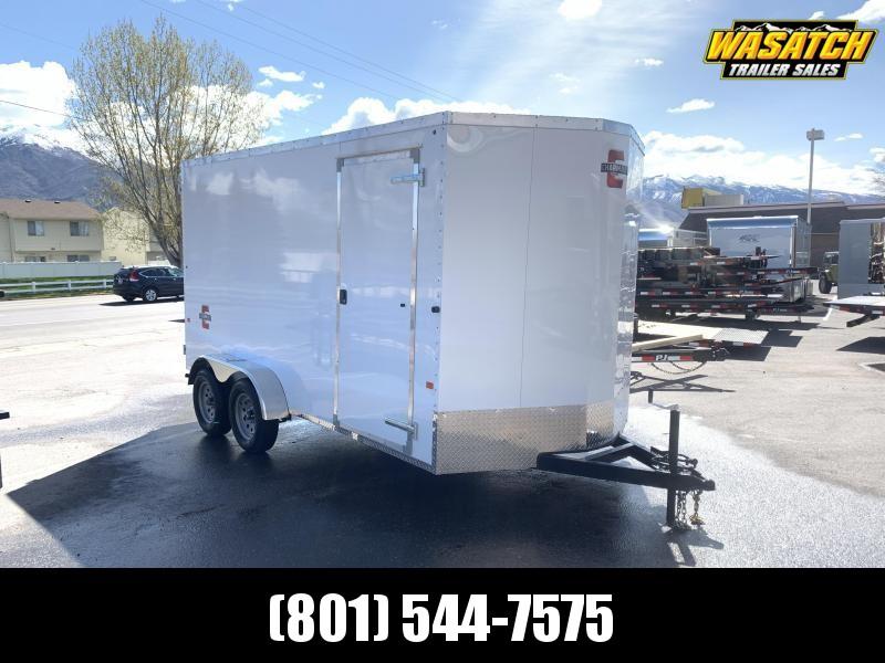 Charmac 7x16 Atlas Enclosed Cargo w/ Barn Doors