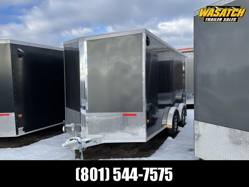Alcom-Stealth 7.5x14 Aluminum Enclosed Cargo