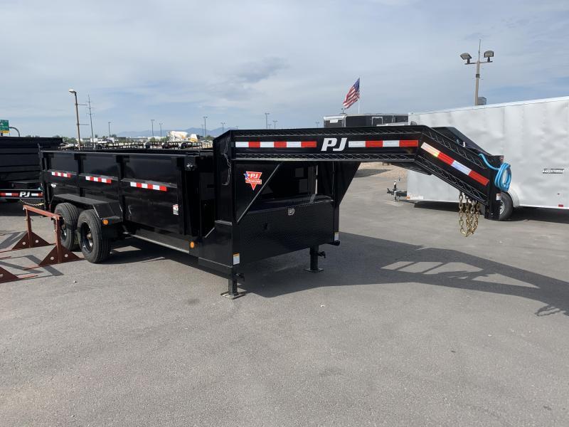 PJ 16' - Gooseneck HD Low-Pro Dump (DE)