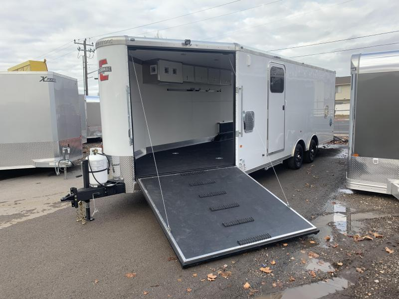 2020 Charmac Trailers 28 ft Stealth Tri Sport Snowmobile Trailer