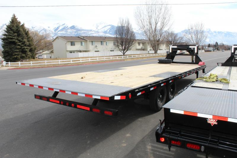 PJ 28 ft - HD Deckover Tilt (T9) Equipment Trailer