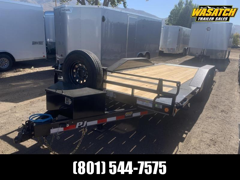 "PJ 20' - 6"" Channel Super-Wide Tilt (TS) Equipment Trailer"