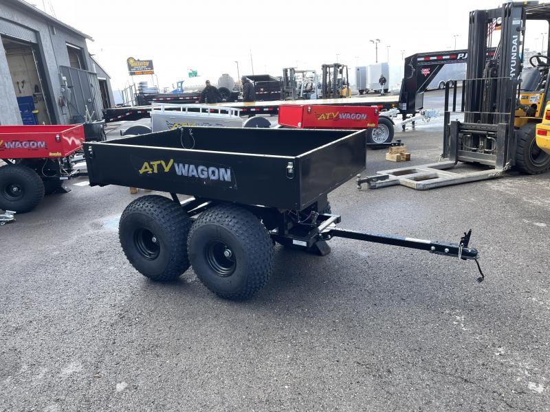 2021 Bosski Tandem Utility UTV / ATV Trailer