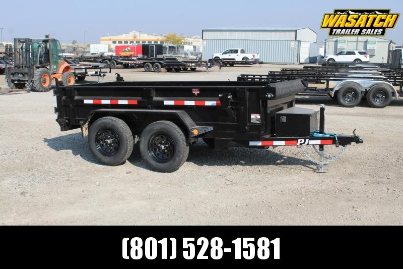 PJ Trailers 5x10 Channel Utility (D5) Dump Trailer