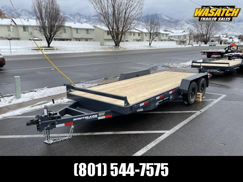 Southland 18' Car Hauler Flatbed / Flatdeck / Equipment