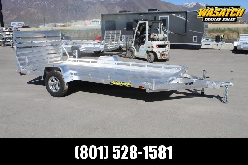 Aluma 7814 Aluminum Utility Trailer