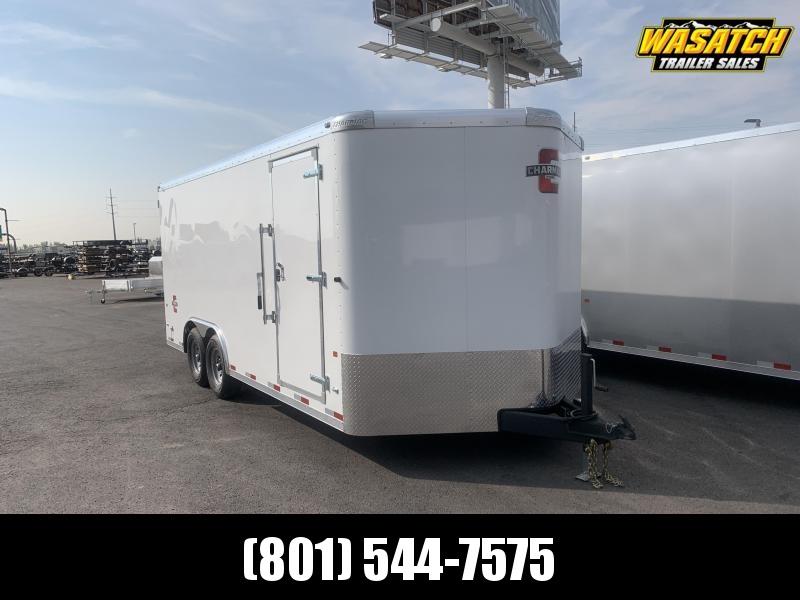 Charmac 100x18 Commercial Heavy Duty Enclosed Cargo w Barn Doors