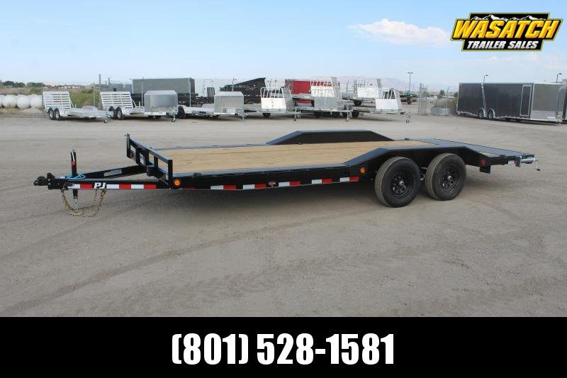 "PJ Trailers 85x20 5"" Channel Buggy Hauler (B5) Equipment Trailer"