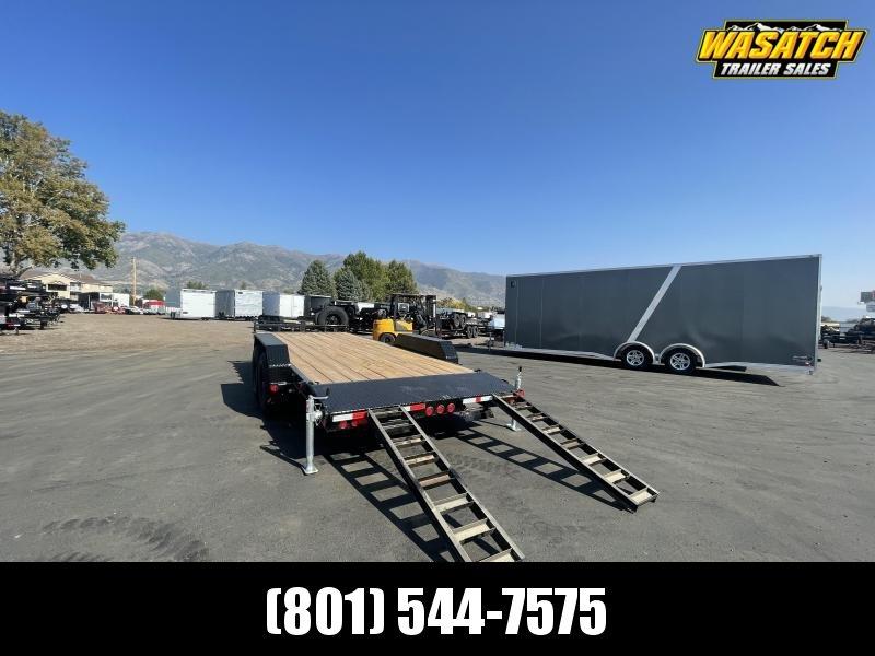 "PJ - CC - 7x20 - 6"" Channel - Car Hauler / Equipment Trailer"