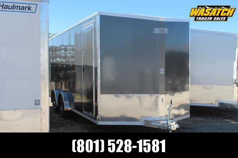 ALCOM 7.5x20 Ezhauler Aluminum Enclosed Cargo Trailer