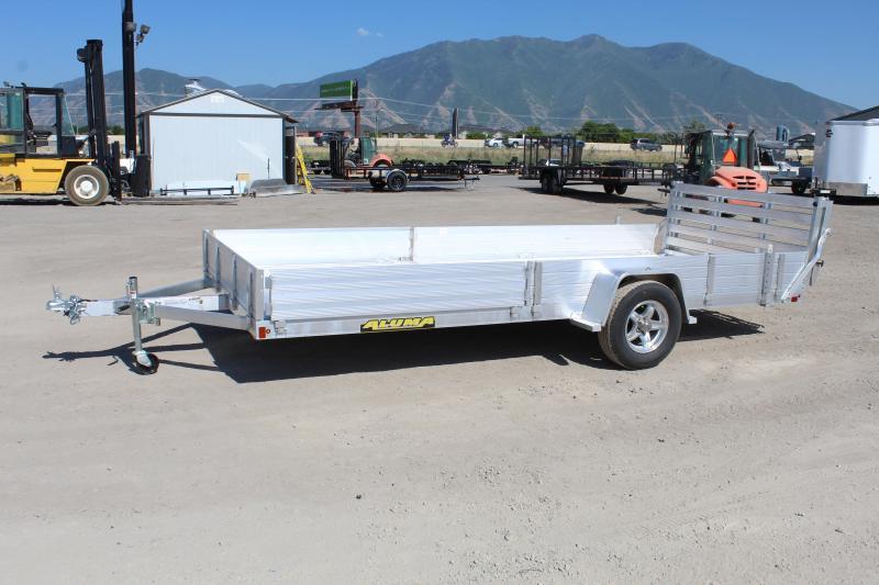 Aluma 8115SR Aluminum Utility Trailer