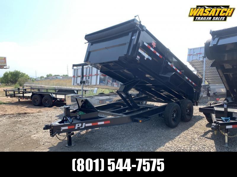 PJ - DM - 7x14 - 3' Side - Dump Trailer