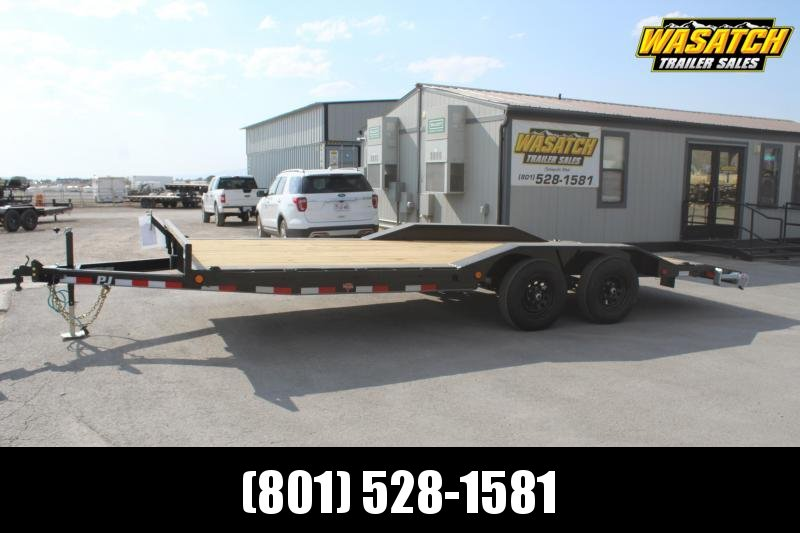 "PJ Trailers 8x20 5"" Channel Buggy Hauler (B5) Equipment Trailer"