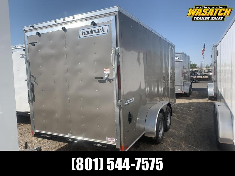 Haulmark 7x16 Pewter Passport Deluxe Enclosed Cargo
