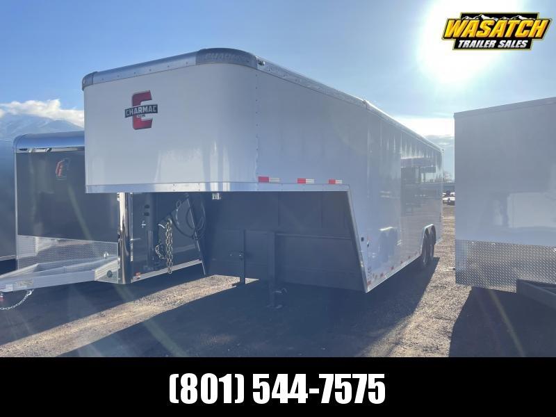 Charmac 22' Gooseneck Commercial Duty Enclosed Cargo