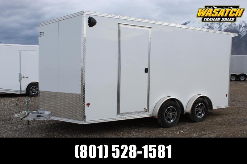 ALCOM 7.5x18 EzHauler Aluminum Enclosed Cargo Trailer