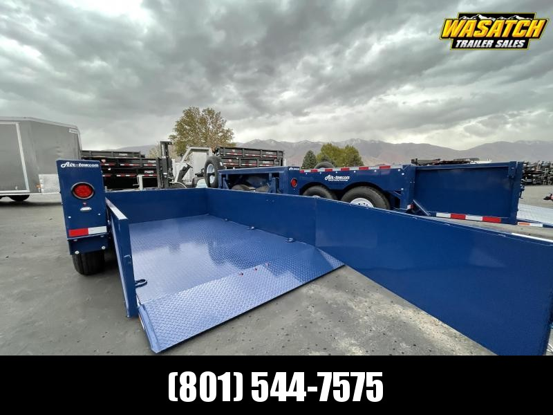 Air Tow - UT12-10 - 12' - Ground-Level Loading - Flatbed Trailer